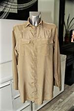 RALPH LAUREN luxueuse robe chemise coton soie TAILLE 10 (40 fr 44i) COMME NEUVE