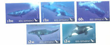 Ross Dependency-Whales  set fine used-(2010)