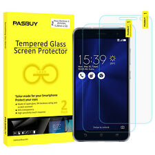 PASBUY 2 Pack Premium Tempered Glass Screen Protector for Asus ZF3 ZE520KL
