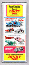 DINKY TOYS advertisment WIDE FRIDGE MAGNET - Captain Scarlet - Thunderbirds