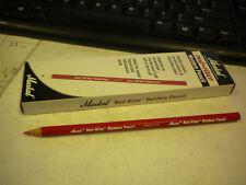 MARKAL RED-TIER WELDERS PENCIL #96100 PACK OF 12PK RED IN COLOR