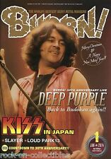 Burrn! Heavy Metal Magazine January 2014 Japan Deep Purple Kiss Slayer Trivium