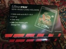 Lot of Never used 150 Ultra Pro Semi Rigid Holders -  Graded card submissions
