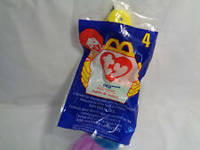 McDonald's 1998 TY Beanie Babies #4 Inch the Caterpillar New Bagged Plush Toy