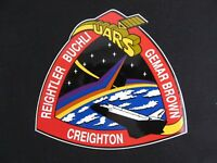 NASA Space Shuttle Crew Member Patch Decal STS 48