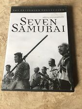 Seven Samurai (Dvd, 1954, The Criterion Collection) Akira Kurosawa