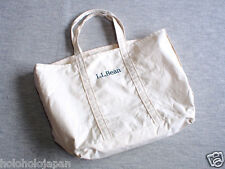 L.L.Bean Grocery Tote Bag genuine article from Japan 100% cotton NEW