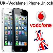UK VODAFONE UNLOCK SERVICE FOR IPHONE 7, 7+,6, 5s,5C,5, 4S,4, 3GS,3