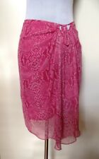 COVERS Pink Skin Print Skirt