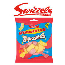 SWIZZELS REFRESHERS SQUASHIES LEMON & STRAWBERRY SWEETS DISCOUNT FAVOURS TREATS