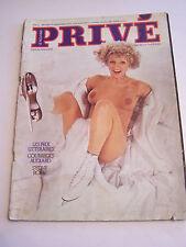 MAGAZINE PRIVE  N° 12 . P . SYDNE ROME . CHARME , EROTISME . 1975 . RARE .