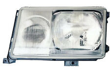 Left side headlight for Mercedes W124 S124 89-93 HALOGEN diffuser