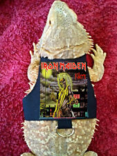 Lil' Bestie Bearded Dragon reptile Harness and Leash IRON MAIDEN