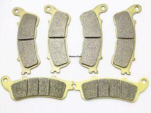 MC Front Rear Brake Pads For Honda XL 1000 Varadero VA4 VA5 VA6 A7 A8 2004-2012