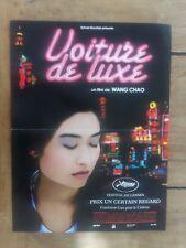 Affiche VOITURE DE LUXE wang CHAO tian YUAN wu yu CAI festival CANNES  40x60cm *
