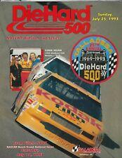 Talladega July 1993 DieHard 500 Speedway Program-