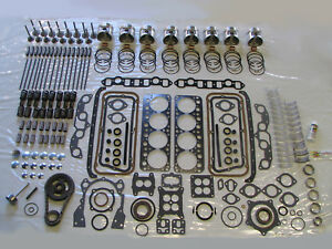 MOST COMPLETE Deluxe Engine Rebuild Kit 52 53 54 DeSoto 276 HEMI V8