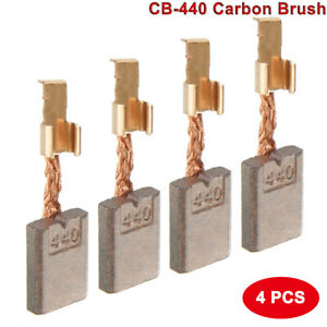 2 Pairs CB-440 Carbon Brushes Replacement for Makita Electric Motor Power Tools