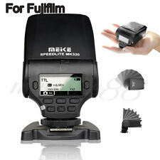 MeiKe MK-320 LCD TTL Mini Speedlite Master Slave Flash For Fujifilm DSLR Cameras