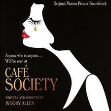 Cafe Society (original Motion Picture Soundtrack) Audio CD