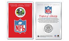 OAKLAND RAIDERS NFL Helmet JFK Half Dollar US Coin w/ Display Case LICENSED