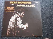 Fats Domino-Jambalaya LP-Germany-Vintage-Rock n Roll-Album-33 U/min