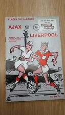 More details for 1966/67 european cup- ajax amsterdam v liverpool