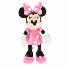 "Disney Store Authentic Minnie Mouse Pink Plush Toy 18"" Soft Doll Girls Gift NWT"
