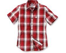 Carhartt Mens 100% Cotton Short Sleeve Chest Pocket Shirt Size M