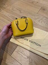 LOUIS VUITTON Nano Alma Epi Leather handbag (mini!) - Bright Yellow - LIKE NEW