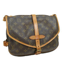 LOUIS VUITTON SAUMUR 30 MESSENGER SHOULDER BAG MONOGRAM AR9002 M42256 33367