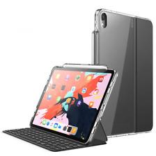 For iPad Pro 12.9 3rd Gen Case Clear Bumper Compatible Original Smart Keyboard