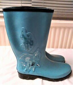 Graphic Print Wellington Boots  Size UK 8 EU 41 US 10