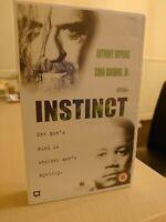 Instinct Anthony Hopkins VHS Big Box Ex Rental