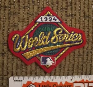 1994 World Series embroidered Patch NEW