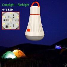 4 Mode LED Camping Tent Light Bulb Fishing Outdoor Lantern Magnetic Lamp Torch N
