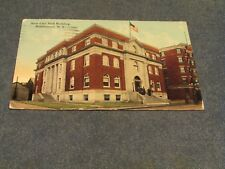 Postcard-City Hall, Middletown, N. Y.-Divided Back Era-Posted 1914