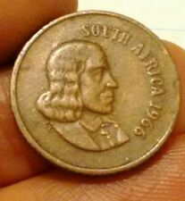South Africa 1c 1966 one cent English legend