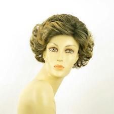 Perruque femme courte Brun méché doré : JULIETTE 1BT24B