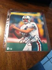 Dan Marino Autograph Photo With COA
