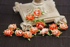 "NEW Prima "" Cameo Roses Poppyfield "" 12 Orange & Light Orange Sticker Roses!"