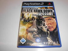 PLAYSTATION 2 ps2 Delta Force: BLACK HAWK DOWN Team Sabre