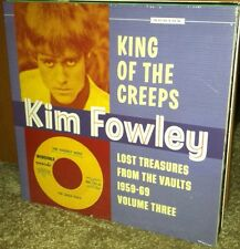 KIM FOWLEY King of the Creeps LP Uptones Fallen Angels Navarros Rogues orchids