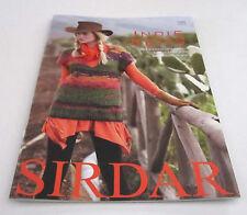 SIRDAR INDIE KNITS knitting yarn pattern book #385 women and girls 18 designs