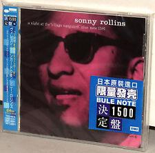 BLUE NOTE CD TOCJ-6410: SONNY ROLLINS - Village Vanguard, OOP JAPAN 2004 OBI NEW