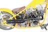 Shovelhead Exhaust Straight Pipe Set Black Shotgun FL 1966/1984 FX 1971/1984