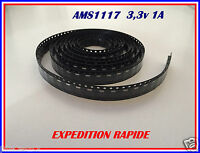 AMS1117 / LM1117 REGULATEUR DE TENSION 3,3V 1A EXPEDITION RAPIDE