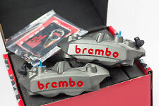 BREMBO M4 108mm Forged Radial Monoblock Calipers with Brake Pads - 220A39710