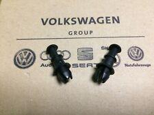 2X New Genuine OEM Audi Skoda Volkswagen Parcel Shelf Strap Pin 1M6867574A