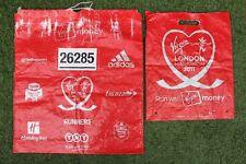 Rare 2011 Virgin London Marathon Finish Line Kit & Carrier Bags Running Souvenir